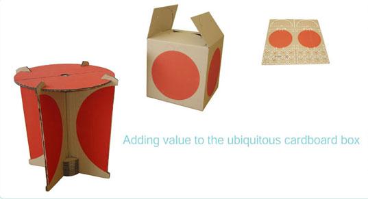 KartonTisch – Schachtel