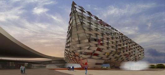 Origami fuer die EXPO – Olano y Mendo arquitectos S.L.