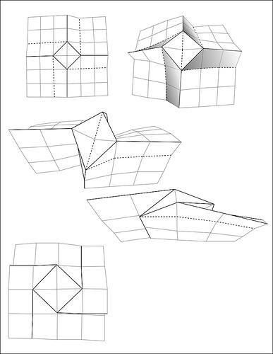Origami – dreh mal ein Quadrat