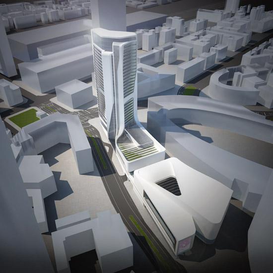 Frnkfurter Skyline erweiterung